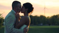 kiss sunset