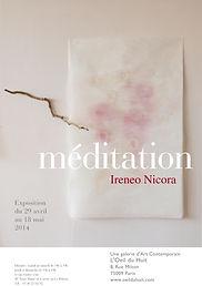 affiche A3 meditation IRENEO NICORA(1).j