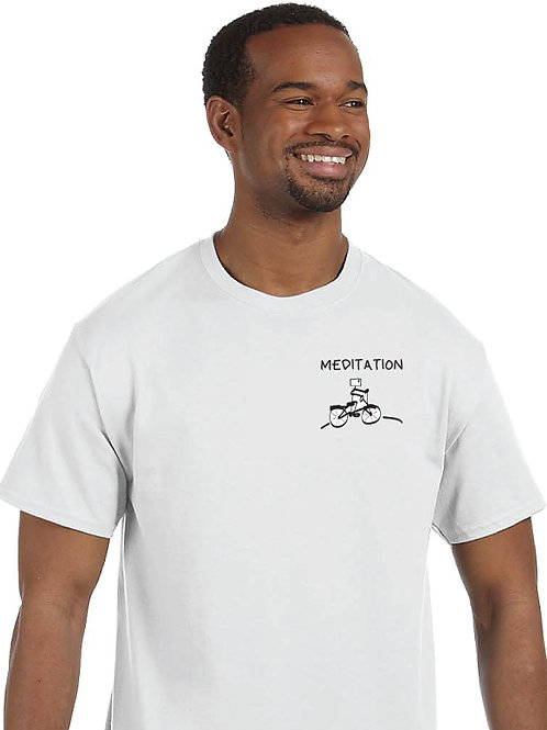 "Men T-Shirt ""MEDITATION – I manifest great things"""