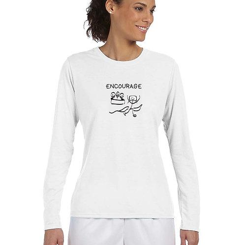 "Woman T-Shirt ""ENCOURAGE – I inspire"""