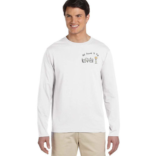 "Men Long Sleeve ""Get Around To It - Bike"""