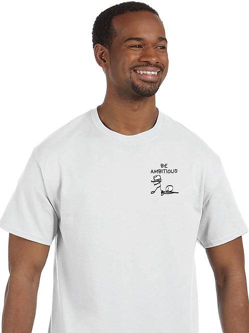 """Men T-Shirt """"BE AMBITOUS – I am enthusiastic"""""""