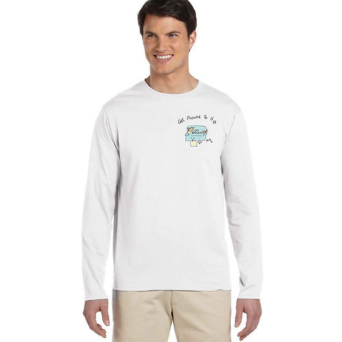 "Men Long Sleeve ""Get Around To It - Couch"""