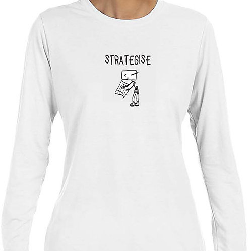 Woman Long Sleeve T-Shirt 12 Actions