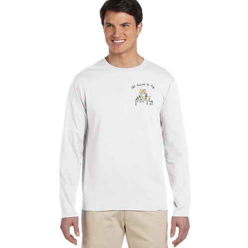 "Men Long Sleeve ""Get Around To It - Office"""