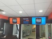 Mur d'image 3 écrans