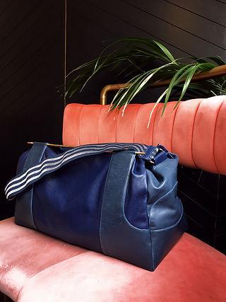 Agnes Moricz leather handbags