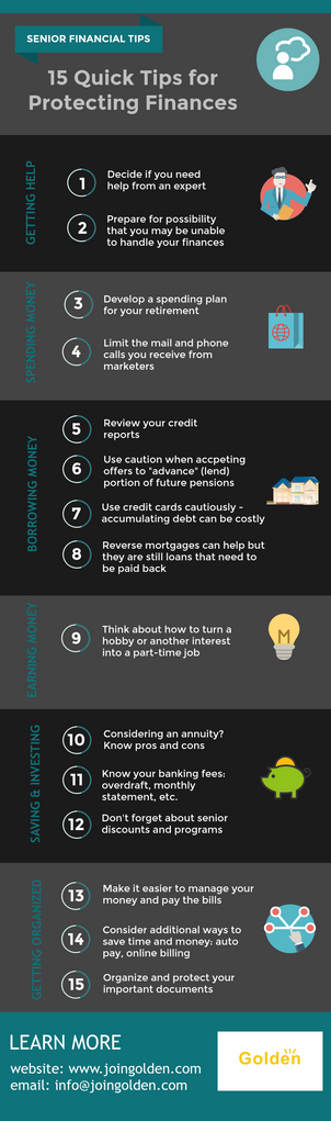 15 Tips for Protecting Senior Finances