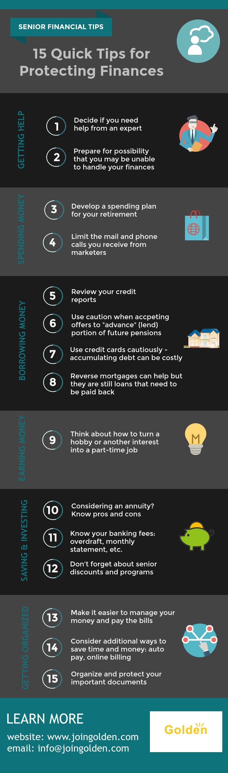 Senior Financial Tips