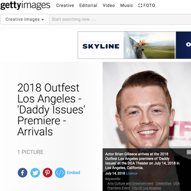Outfest Arrivals - 'Daddy Issues'