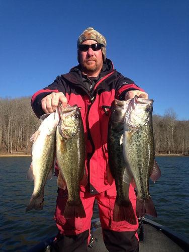 Dale Hollow Lake Guide Service - Bass Fishing