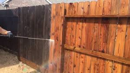 Pressure Washing Service,  Wood Fence Cleaning Servce
