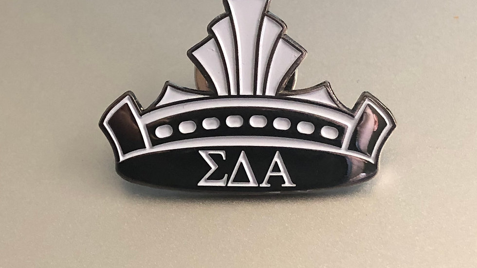 """The Crown"" Sigma Lapel Pin"