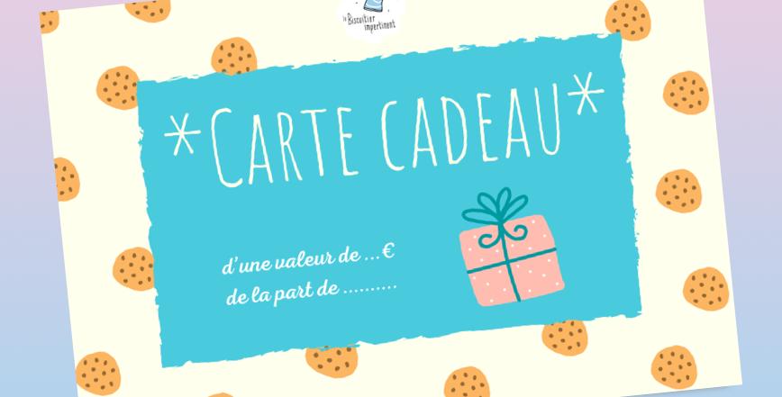 *CARTE CADEAU*