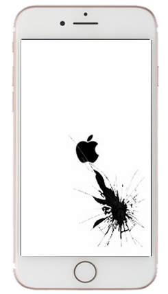Cracked Screen iPhone
