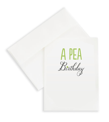 A Pea Birthday