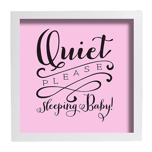 Quiet Please Sleeping Baby