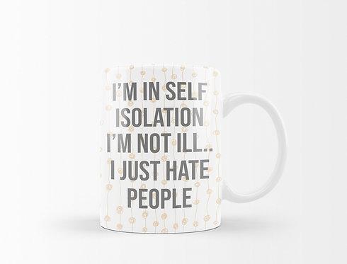 I Just Hate People Mug
