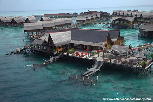 5 Days 4 Nights Semporna Exotic Kapalai Luxury Water Resort (Island Tour)