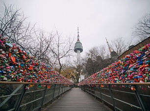 Namsan Park with Love Lock 2.jpg