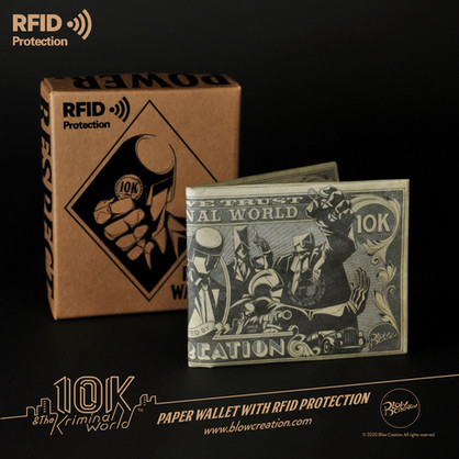 RFID Paper Wallet - Dollar Bill