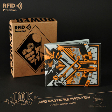 RFID Paper Wallet - Poseidon