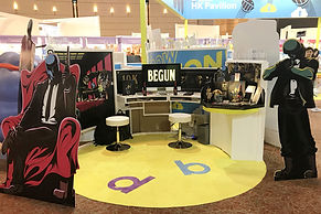 Blow Creation @ HONG KONG INTERNATIONAL LICENSING SHOW 2020