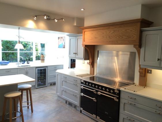 Elegant Painted Kitchen