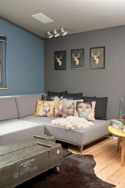 אחד לאחד מעצבים פנים - הדירה של אלעד