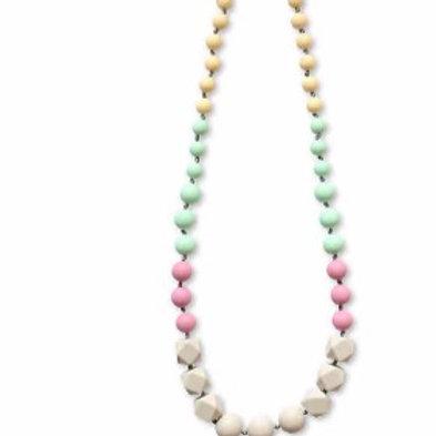 Chewable Nursing Necklace | Full Jade Mauve