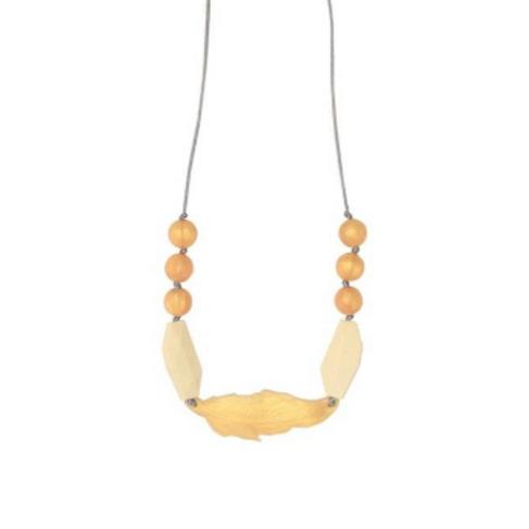 Chewable Nursing Necklace | Dove Feather