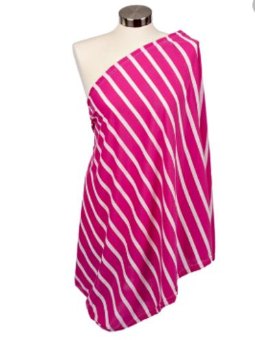 Itzy Ritzy Infinity Breastfeeding Scarf | Peony Stripe