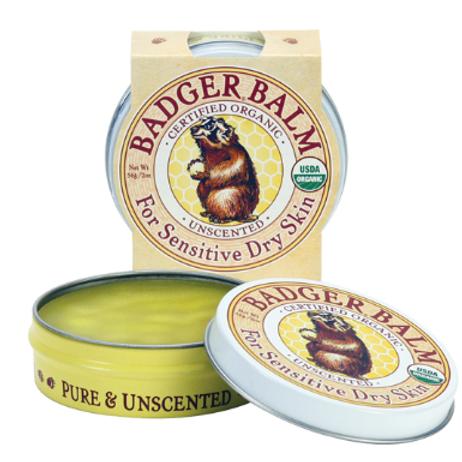 Badger For Dry Sensitive Skin | Unscented