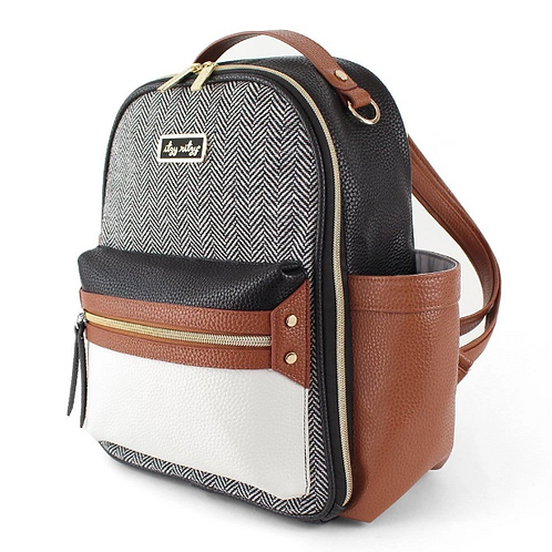Itzy Mini Backpack | Coffee & Cream