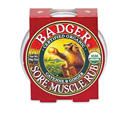 Badger Sore Muscle Rub | Cayenne & Ginger