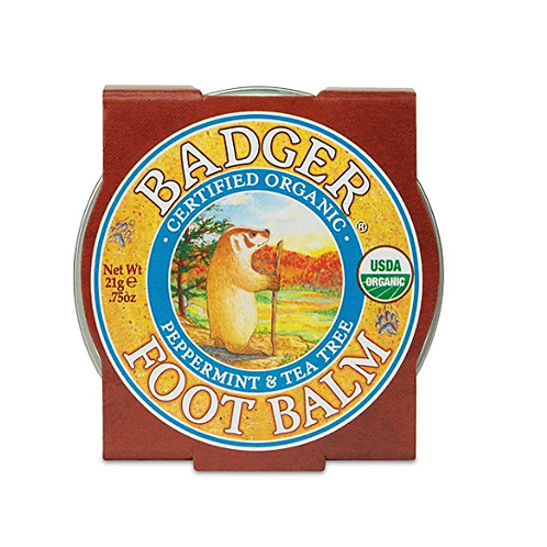 Badger Foot Balm | Peppermint & Tea Tree