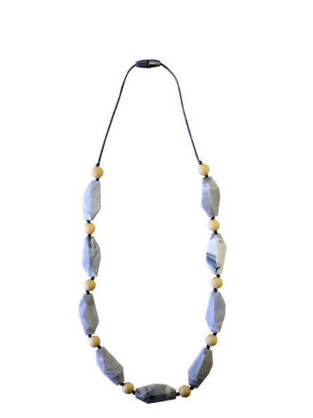 Chewable Nursing Necklace | Wheat Stone