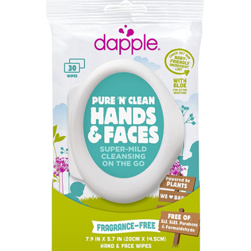 Pure N' Clean Hands and Face Wipes