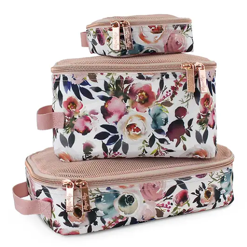 Packing Cubes - Blush Floral