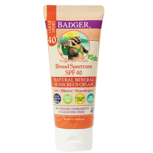 Kid's Sport Sunscreen Clear Zinc SPF 40