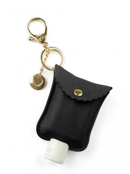 Black Cute N' Clean | Hand Sanitizer Case