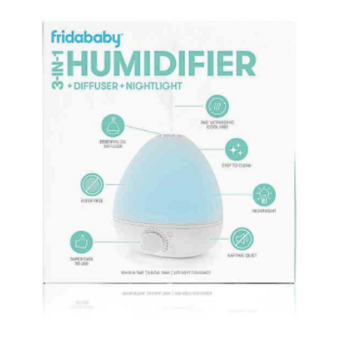 Fridababy 3-in-1 Humidifier & Diffuser & Nightlight