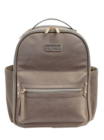 Itzy Mini Backpack - Taupe