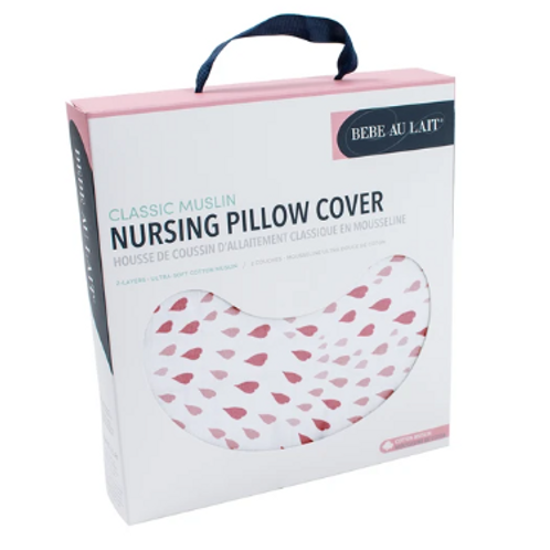 Nursing Pillow Cover | Classic Muslin