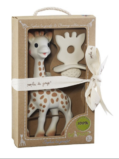 So'Pure Sophie the Giraffe with Natural Teether