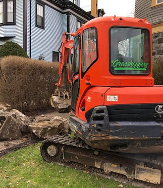 Concrete Blacktop Soil Removal | Western NY | Grasshopperz Property Maintenance