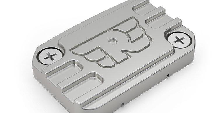 Royal Enfield - Gefräster Deckel für Bremsflüssigkeitsbehälter vorne - Alu