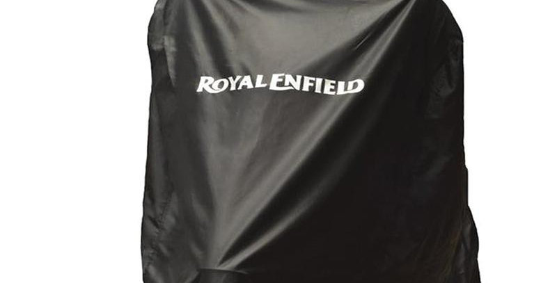 Fahrzeugabdeckplane schwarz - Royal Enfield