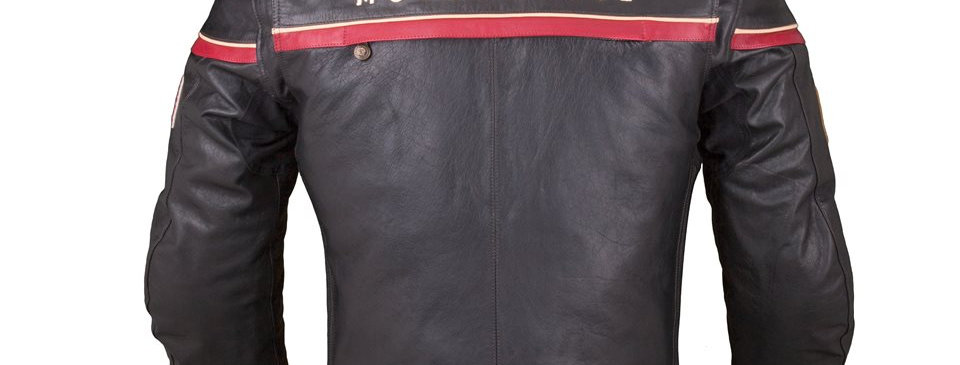 Indian Leather Freeway Riding Jacket - XL -schwarz