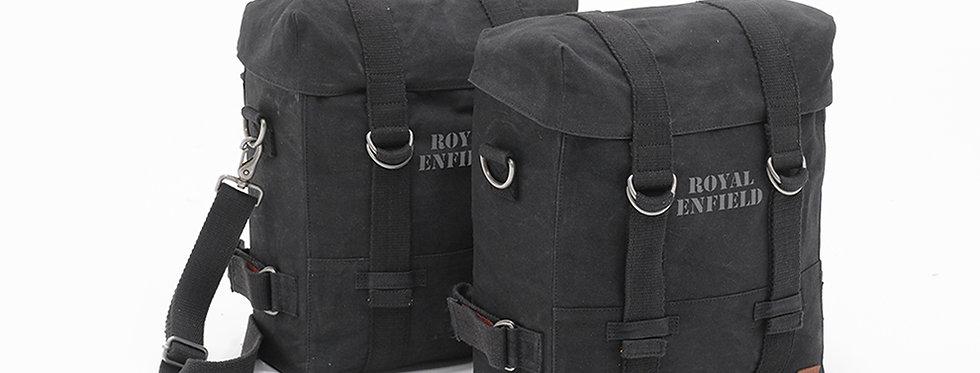 Militärische Packtaschen Paar, schwarz